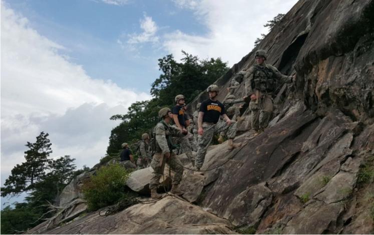 US Army Rock Climbing Mount Yonah Georgia
