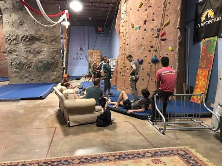 Rock Climbing Gyms Atlanta Georgia