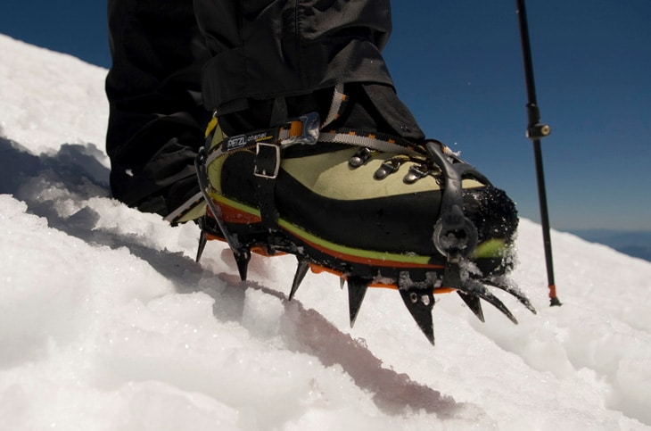 using-crampons-to-hike